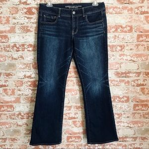 American Eagle Kick Boot Stretch Jeans, size 14